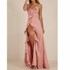 Showpo Maxi Blush Dress